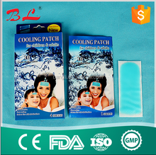 High Quality fever cool patch /cooling gel patch with private label