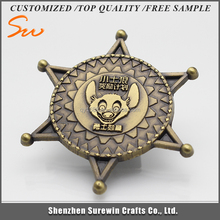 Top Quality Reasonable Price star shaped badge