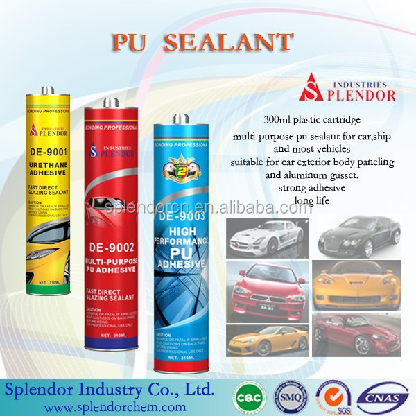 SP-1018 pu auto windshield sealant