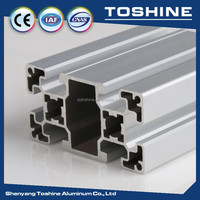 Square alloy Extruded Aluminum Flooring supplier,direct sell Extruded Aluminum Flooring for transport, building, conveyor roller