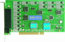 16CH PABX Telephone Recording Card 16 Line PCI Telephone Voice Recording Card