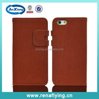flip cover leather cheap mobile phone case for iphone 6