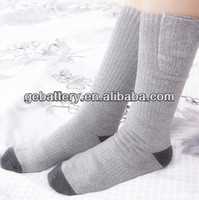 2014 hot sale electric heated socks