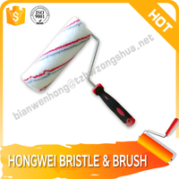 polybag packing paint roller with screw