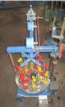 candle wick braiding machine for cone line