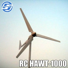 1000w horizontal wind micro turbines/ wind power generator