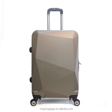 Professional ABS luggage factory hard plastic cover travel trolley cases set