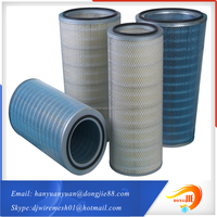 alternative material and specifications high performance fuel portable filter cartridge for filter system