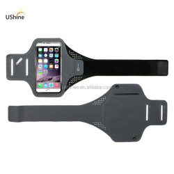 For apple iphone X neoprene sport arm band, mobile phone Sport Armband Case with Key Holder