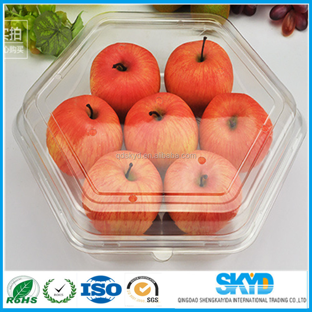 plastic tray with dividers plastic apple tray