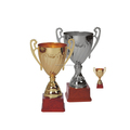 Classical plastic metal sports small metal trophy cup for sports souvenirs