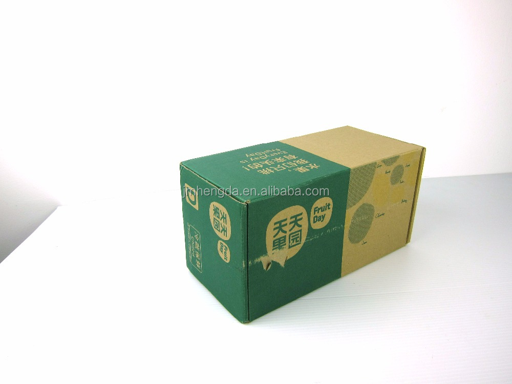 Electrical Industry Brown corrugated paper shipping box foldable cardboard paper box for mailing