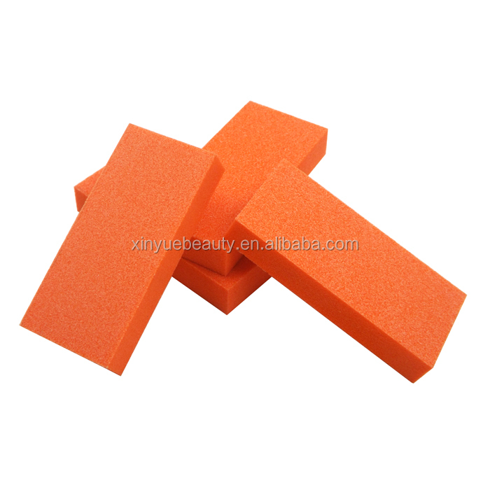 high quality nail care with sponge and nail buffer block eva nail file
