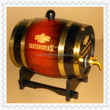 Mini cheap whiskey antique wooden barrel for sale