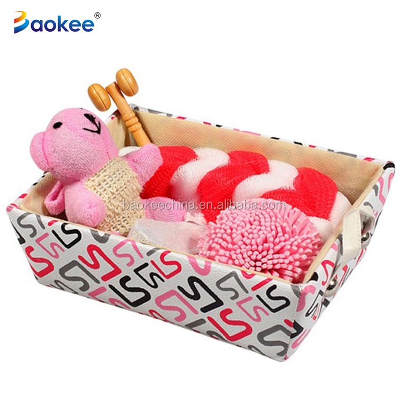Light Paper Box Skin Exfoliating Tools Travel Bath Set