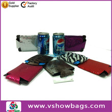 polyester zipper tote cooler bag beer/cola/drink can cooler bag lunch cooler bag from china bag mnufacturer