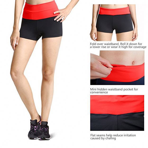 Wholesale china running women sports shorts yoga wear