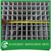 Galvanized or black iron welded wire mesh for concrete reinforcing
