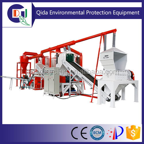 Highly Efficient QD-1000A Air Conditioner Radiator Recycling Machine