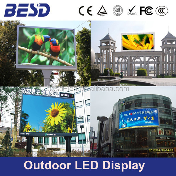 Outdoor P10 P16 LED display module ,Digital Billboards