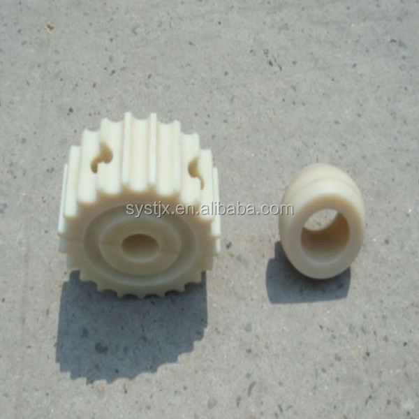 Printer parts plastic gear with set screw