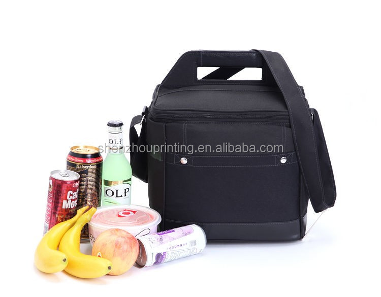 New recycle cheap price custom large capacity picnic lunch camping thermal insulated cooler tote bag