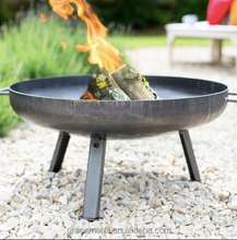 Small mini garden metal standing outdoor round wood burning fire pits firepits