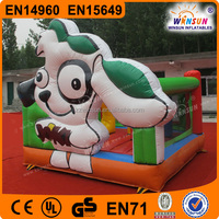 Cartoon theme Inflatable Animal Toys jumping For Kids