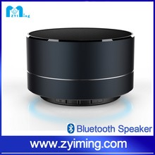 Zyiming Round Large Battery Power Bank Metal Bluetooth Speaker with 5Watts