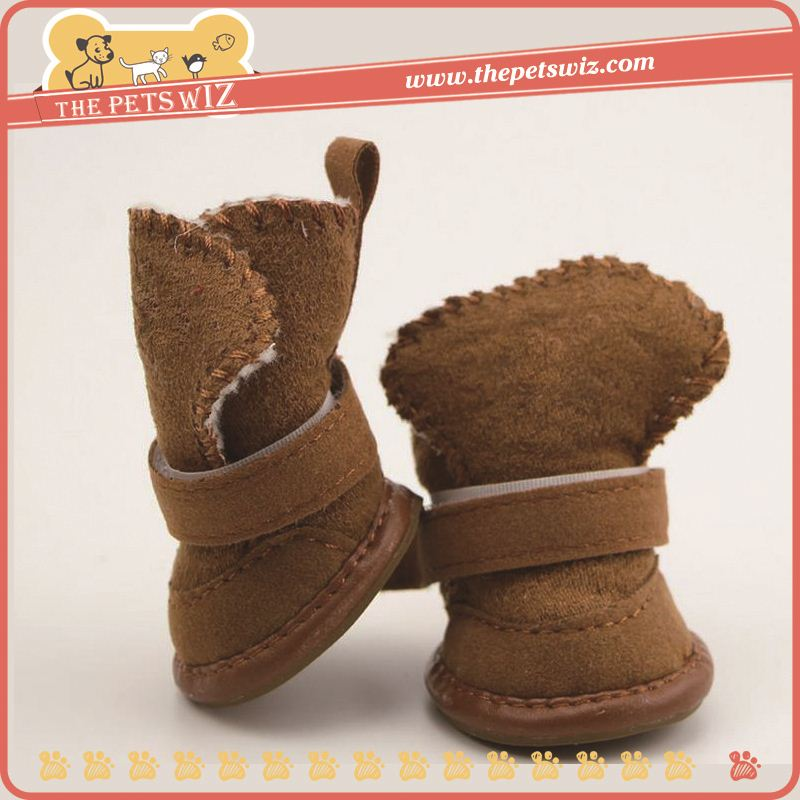 Pet snow winter shoes p0wnM waterproof dog boots trendy rain shoes for winter for sale