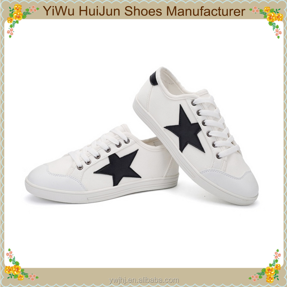 Wholesale canvas tennis canvas fabric for shoes lucky star shoes
