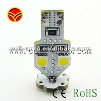 auto accessories T10 6pcs smd5050 canbus led for BMW