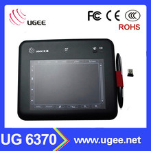 China supplier Ugee UG 6370 6x4 inch digital writing pen tablet
