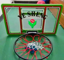 PC material Basketball hoop & basketball stand