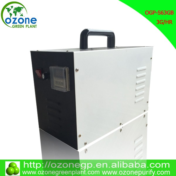 high output 3g portable ozonator for drinking water treatment
