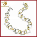 2017 Stainless Steel Chocker Statement Necklace Jewelries For Women,Dubai Gold Plated Fashionable Jewelry Wholesale
