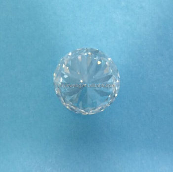 Finished White Lab Created HPHT Diamonds for Jewelry