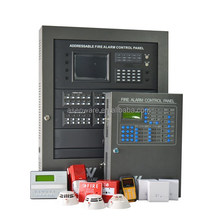 Myanmar Uganda Projects Firefighting Equipment Fire Alarm Control Panel System
