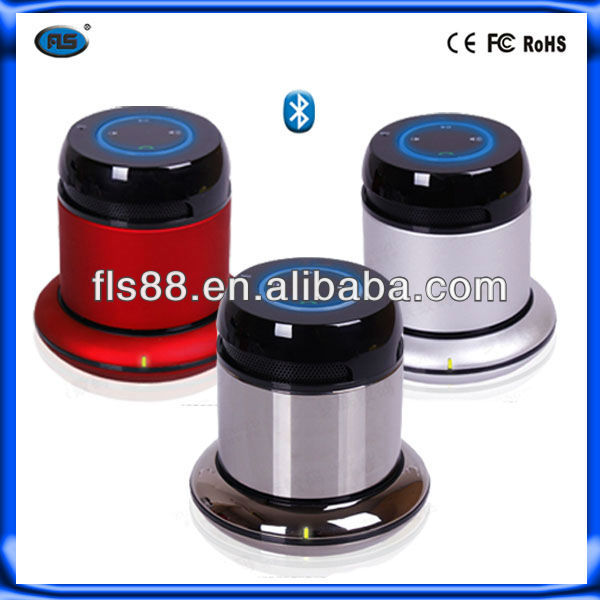 2013 New design stereo sound mini portable rechargeable bluetooth speaker