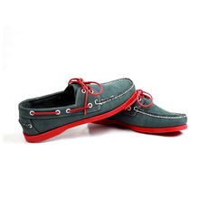 wholesale <strong>shoes</strong> men casual leather boat <strong>shoes</strong> for men and women Frosted blue red bottom