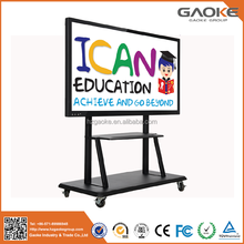 65 inch infrared interactive whiteboard with wheels and Built in i5 cpu computer