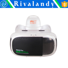 wireless Control 3D VR Box, Virtual Reality 3D VR glasses for iOS Android smart phone watch movie and play games