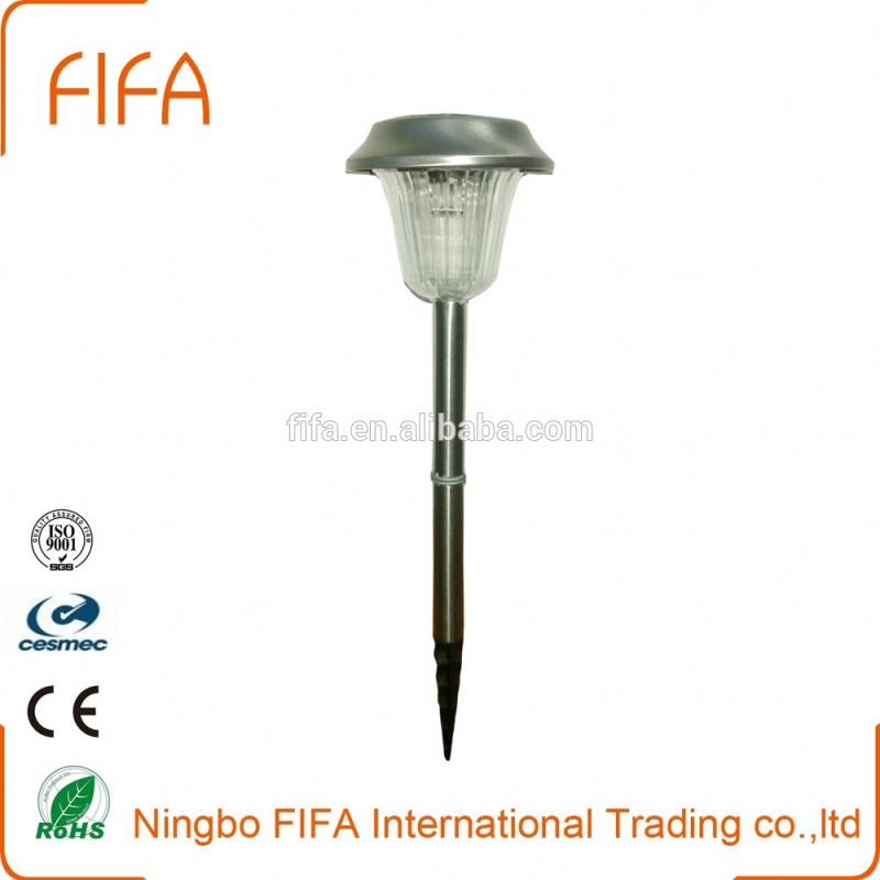 Promotional Outdoor LED Plastic Stake Garden Solar Light