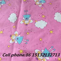 Soft Printed Cotton fabric, brushed flannel cotton fabric, baby clothes