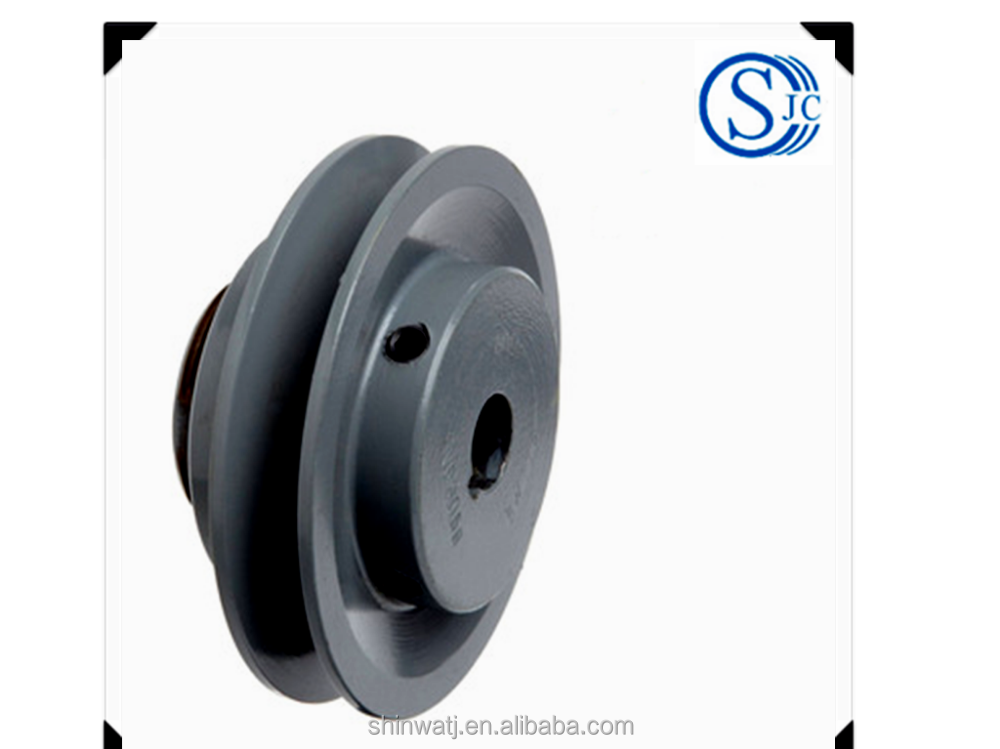 Cone type V belt pulley