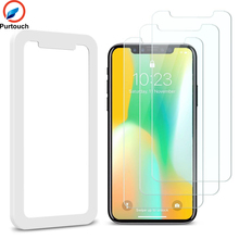 Well Designed Screen Protector Tempered Glass for iPhone X OEM 3 pack