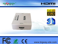 HDMI to AV converter with USB cable mini HDMI2AV converter