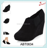 Hollow women high heels sandals boots ankle length wedge boots for women