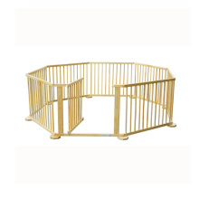 High quality and safety kindergarten indoor wooden playpen for baby