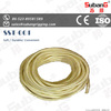 High strength synthetic hollow braided polypropylene rope